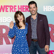 """Zooey Deschanel Los Angeles Premiere Of Season 2 Of HBO's Unscripted Series """"WE'RE HERE"""""""