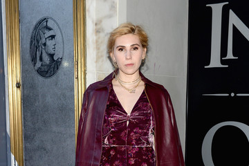 Zosia Mamet American Express Celebrates the New Platinum Card With Hamilton Takeover Experience in New York City