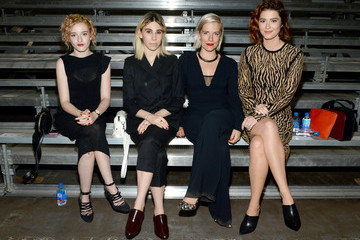 Zosia Mamet 3.1 Phillip Lim - Front Row - Spring 2016 New York Fashion Week