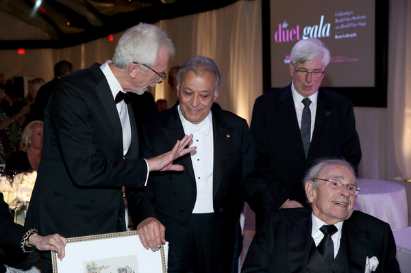 American Friends of the Israel Philharmonic Orchestra Duet Gala at the Wallis Annenberg Center for the Performing Arts [event,businessperson,dinner,zubin mehta,julian gold,bruce goldsmith,bram goldsmith,honoree,l-r,wallis annenberg center for the performing arts,beverly hills,american friends,israel philharmonic orchestra duet gala]