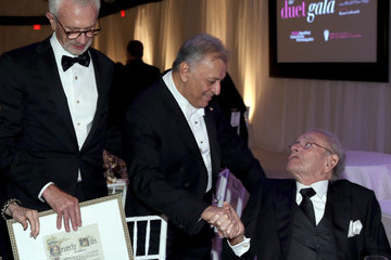 Zubin Mehta Bruce Goldsmith American Friends of the Israel Philharmonic Orchestra Duet Gala at the Wallis Annenberg Center for the Performing Arts