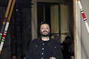 Lebanese designer Zuhair Murad acknowledges the audience at the end of the Zuhair Murad Spring Summer 2018 show as part of Paris Fashion Week on January 24, 2018 in Paris, France.