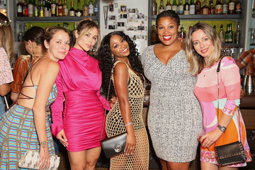 Zulay Henao Venessa Fraguio 'Once Upon A Time In Hollywood' '60s Themed Party