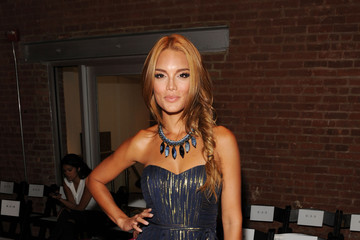 Zuleyka Rivera Perry Ellis - Front Row - Mercedes-Benz Fashion Week Spring 2015