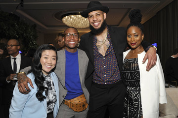 Zuri Adele Mercedes-Benz USA Awards Viewing Party At Four Seasons, Beverly Hills, CA