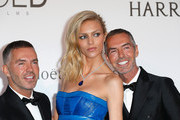 Dan Caten and Anja Rubik Photos Photo