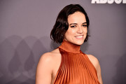 Michelle Rodriguez attends the amfAR New York Gala 2019 at Cipriani Wall Street on February 6, 2019 in New York City.