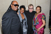 Stevie Wonder and Gladys Knight Photos Photo