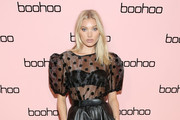 Elsa Hosk attends the boohoo NYFW celebration at the boohoo Mansion on September 11, 2019 in New York City.
