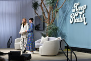 (L-R) Gwyneth Paltrow and goop chief content officer Elise Loehnen speak onstage during the In goop Health Summit San Francisco 2019 at Craneway Pavilion on November 16, 2019 in Richmond, California.