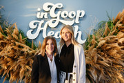 (L-R) Marianne Williamson and Gwyneth Paltrow attend the In goop Health Summit San Francisco 2019 at Craneway Pavilion on November 16, 2019 in Richmond, California.