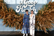(L-R) goop chief content officer Elise Loehnen and Sophia Bush attend the In goop Health Summit San Francisco 2019 at Craneway Pavilion on November 16, 2019 in Richmond, California.