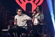 """Bobby Bones and Amy Brown during iHeartMedia's Bobby Bones Book Release Party - """"FAIL UNTIL YOU DON'T: FIGHT. GRIND. REPEAT."""" on June 19, 2018 in New York City."""