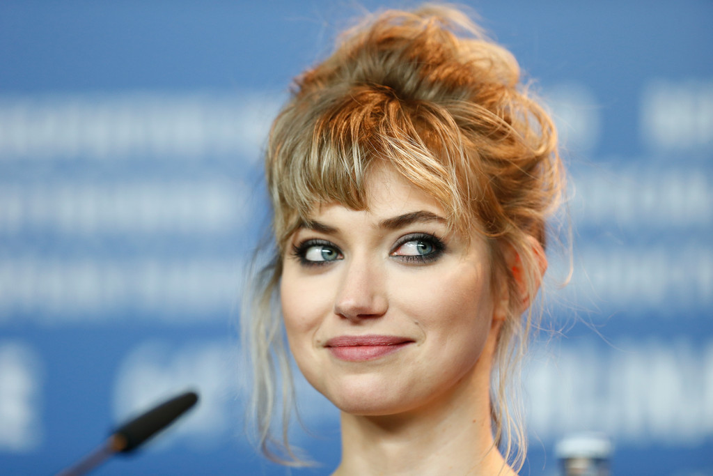 Imogen Poots in 'A long way down' Press Conference - 64th ...