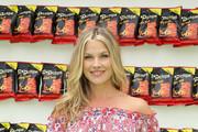 Popchips Crazy Hot BBQ Hosted By Ali Larter For the FDNY