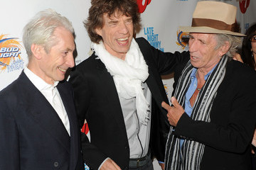 """Mick Jagger Charlie Watts Re-release Of The Rolling Stones' """"Exile On Main St."""""""
