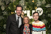 (L-R) Tom Everett Scott, Amy Sedaris and Cole Escola attend the truTV Happy Hour at The Langham Huntington Hotel and Spa on February 11, 2019 in Pasadena, California. 510191