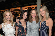 """(L-R) Actors Ilana Becker, Alison Becker, Writer/producer/actor Andrea Savage and actor Kaitlin Olson celebrate the launch of truTV's new scripted comedy """"I'm Sorry"""" at Catch LA on June 13, 2017 in Los Angeles, California. 27060_001"""