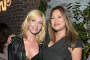 """Actors Morgan Walsh (L) and Kulap Vilaysack celebrate the launch of truTV's new scripted comedy """"I'm Sorry"""" at Catch LA on June 13, 2017 in Los Angeles, California. 27060_001"""
