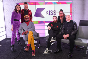 will.i.am Olly Murs The Voice UK Judges Visit KISS FM
