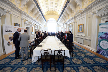 will.i.am The Duke Of Cambridge Hosts The Signing Ceremony Of United For Wildlife's Financial Taskforce Declaration