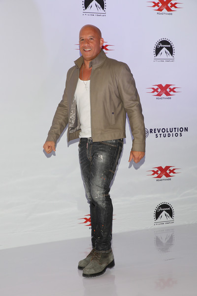 photos diesel return xander cage mexico photocall press