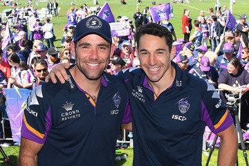 y Slater Melbourne Storm Fan Day