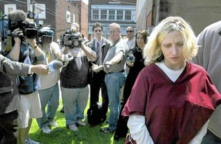 The trial began Thursday for Abbie Jane Swogger, the 35-year-old ex-special ...