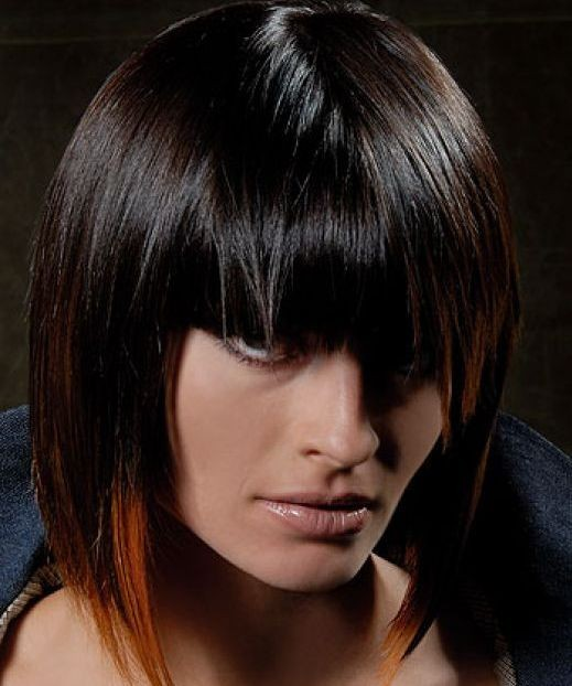 Latest bob hairstyles 2009 Fall