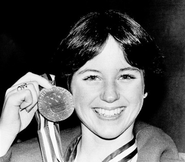 Dorothy Poses With Her Gold Medal In 1976 Image Via Foxnews