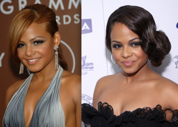 Christina Milian Prom Hairstyle Ideas 2009