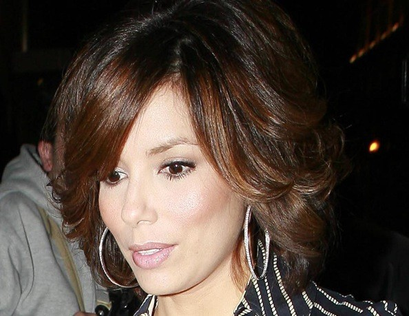 eva longoria hairstyles bob. Eva#39;s layers give her hair a