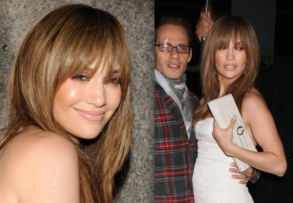 jennifer lopez hair. Jennifer Lopez#39;s New Fringe