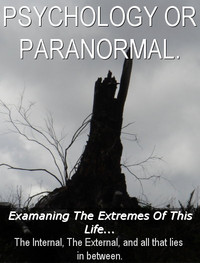 Zimbio Cover - Psychology or Paranormal.
