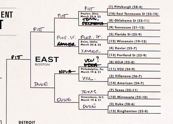 2011 barack obama bracket. Barack Obama#39;s Picks for the