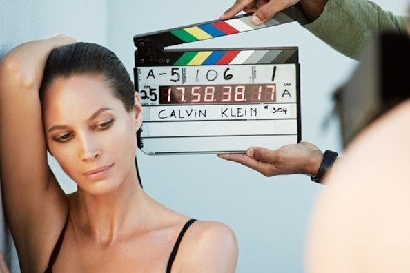 Christy Turlington Is Getting Back Into Her Calvin Klein Skivvies For a New Campaign