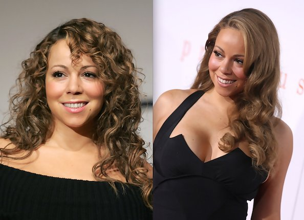 Mariah Carey S Old School Curl Appeal Mariah Carey Zimbio