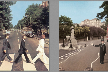 What Happens When You Go Behind Some of Music's Most Iconic Album Covers?