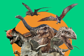 All The 'Jurassic Park' Dinosaurs, Ranked From Gentle Giant To Aggressive AF