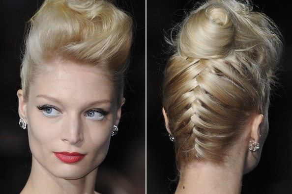 We're Totally Stealing This Braiding Technique We Saw at Fashion Week [VIDEO]