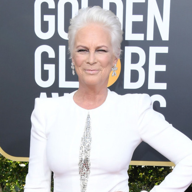 Jamie Lee Curtis Isn't Here For the Golden Globes Spon Con