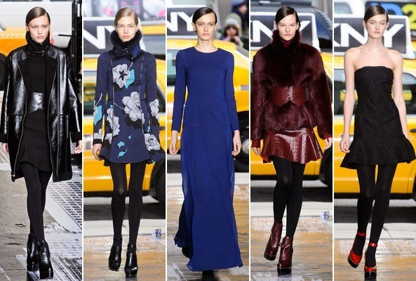 City Chic: DKNY Fall 2012