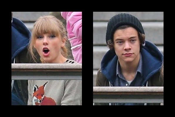 taylor and harry dating history