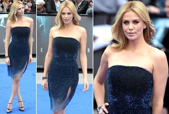 Charlize Theron's Midnight Blue - Celeb Style