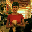 The cafe Amelie worked at is a real place.