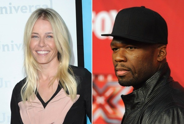 Celebs Who've Dated Rappers » Celeb News/Chelsea Handler Dated 50 Cent