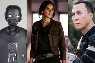 A Closer Look at the New 'Star Wars' Characters in 'Rogue One'