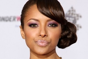 Kat Graham Oozes Sophistication with a Classic Chignon