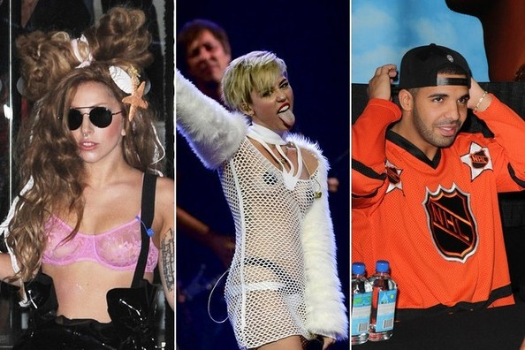 Halloween Costume Inspiration from the Music of 2013