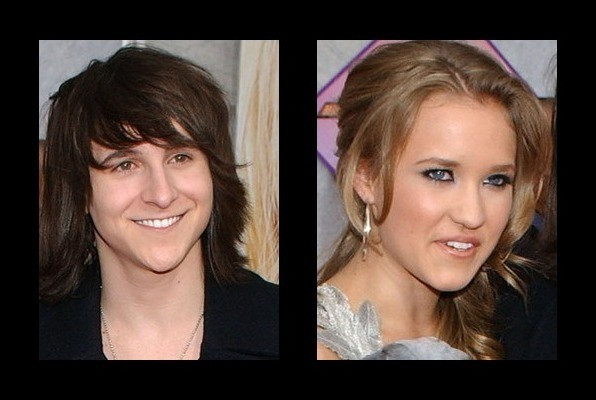 Emily Osment with Mitchel Musso